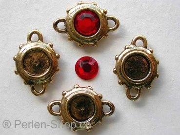 perlen swarovski perlen rocailles schmuckzubeh r zwischenst ck zum kleben goldfarbig. Black Bedroom Furniture Sets. Home Design Ideas