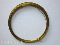 CRAZY DEAL Brass wire, 0.4mm, 4 meter, color gold