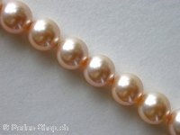 ON SALE Sw Cry Pearls 5810, peach, 6mm, 50 pc.