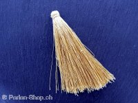 Silk Tassels, Color: brown, Size: ±8cm, Qty:1 pc.