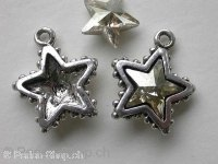 Pendant star to stick, 1 pc.