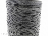 Nylon cord, Color: black, Size: ±1mm, Qty: 1 Meter
