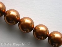 ON SALE Sw Cry Pearls 5810, copper, 12mm, 10 pc.