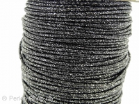 Aluminum wire wrapped in polyster, Color: grey, Size: ±2mm, Qty: 1 Meter