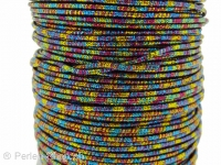 Aluminum wire wrapped in polyster, Color: multi, Size: ±2mm, Qty: 1 Meter