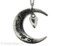 Collier Amitié - I Love you to the Moon and Back!, Quantite: 1 pcs.